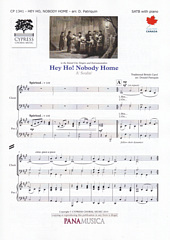 Hey Ho, Nobody Home [SATB]