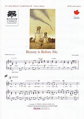 Beauty is Before Me [SATB]