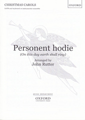 Personent Hodie (On this day earth shall ring)