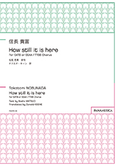 「How still it is here」 for SATB or SSAA / TTBB Chorus