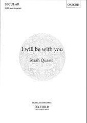 I will be with you [SATB]