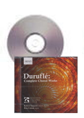 [CD]デュルフレ:合唱作品全集(Complete Choral Works)