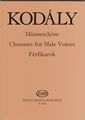 Ferfikarok (Choral Works for Male Voices)