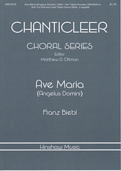 Ave Maria (Angelus Domini) for Frauenchor